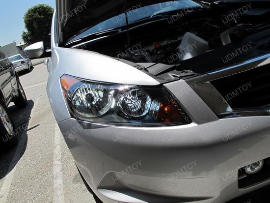 2008 Honda Accord | HID Conversion Kit and SMD LED high beam